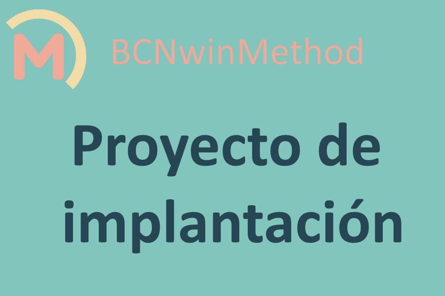 BCNwinMethod Proyecto de implantación. Metodología de fútbol