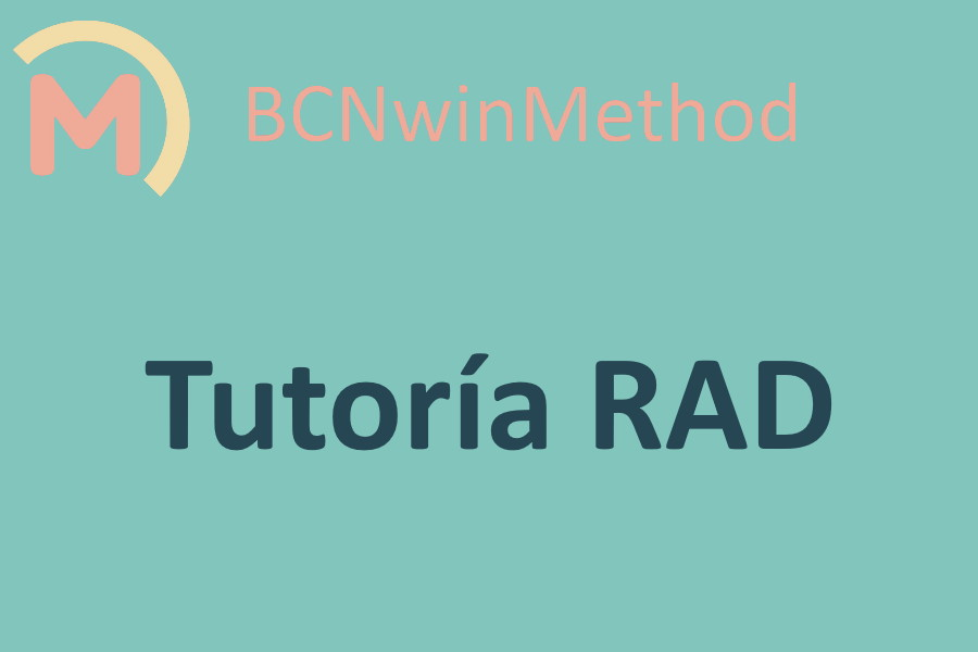 BCNwinMethod Tutoría RAD para equipos de fútbol