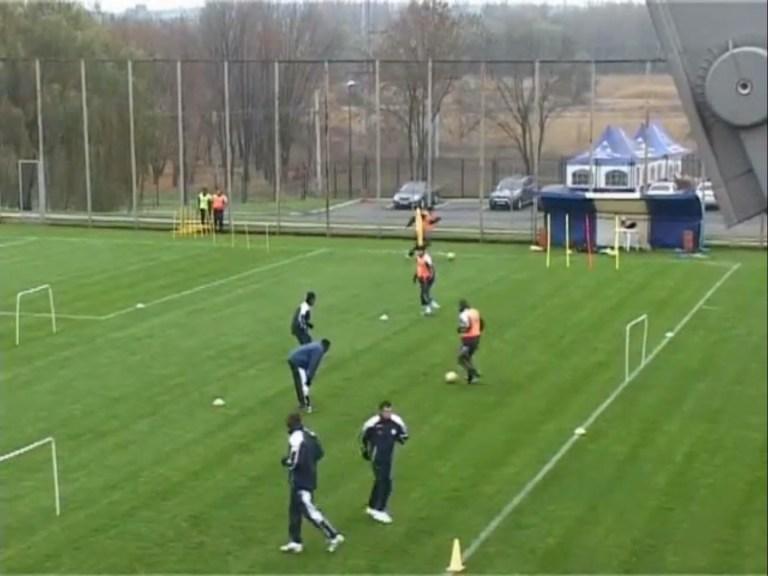 Circuito de Velocidad resistencia para Fútbol Profesional