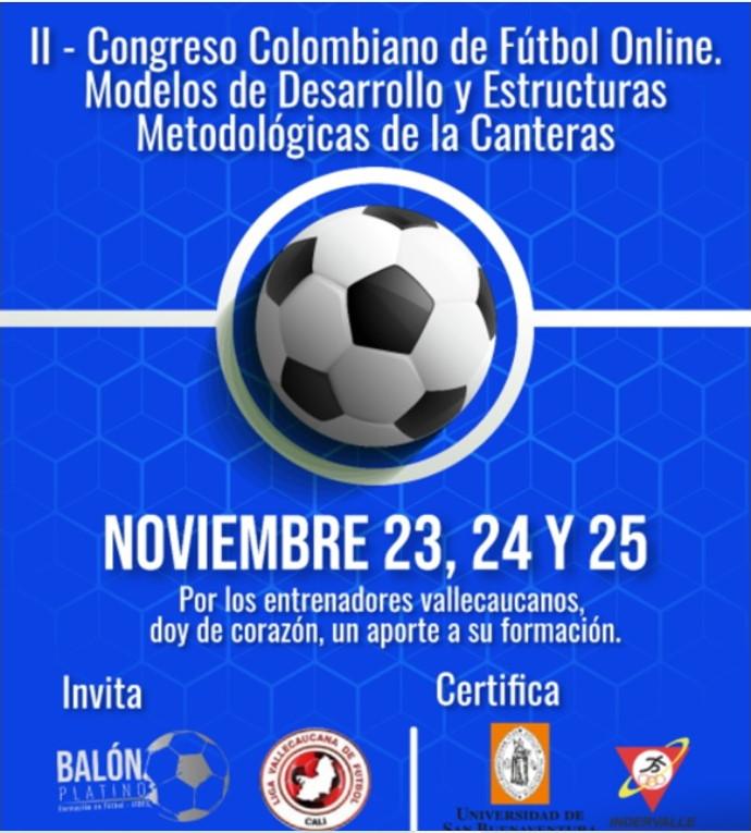 II Congreso Colombiano de Fútbol Online