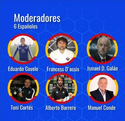 Ponencias españolas del II Congreso Colombiano de Fútbol Online