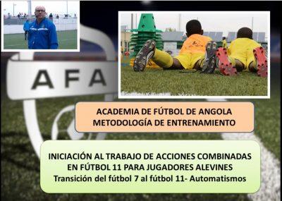 Automatismos para transición de Fútbol 7 a Fútbol 11