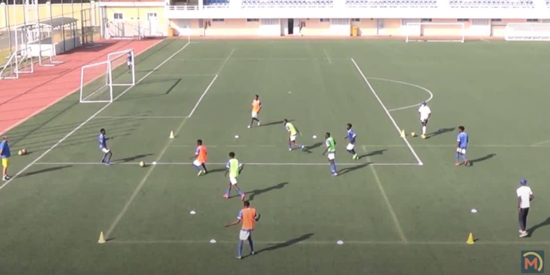 Sesión de entrenamiento Juvenil. Video-3